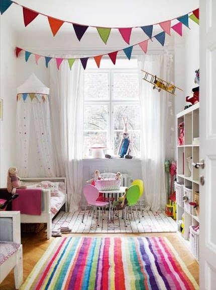 Playroom colorful